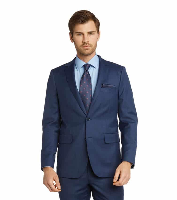Giorgio Fiorelli Blue Teakweave Suit